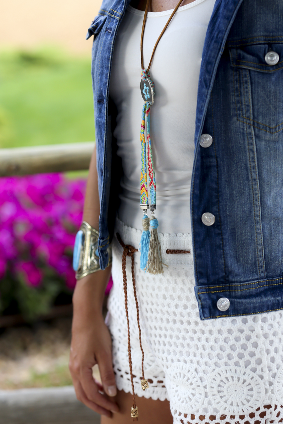 denim & crochet